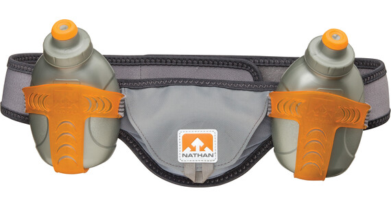 Nathan Speed 2 - Accesorios running - gris/naranja